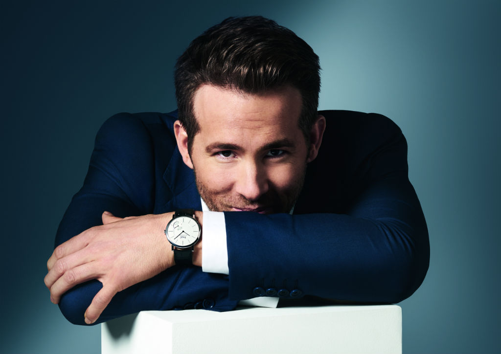 RYAN REYNOLDS PIAGET INTERNATIONAL BRAND AMBASSADOR