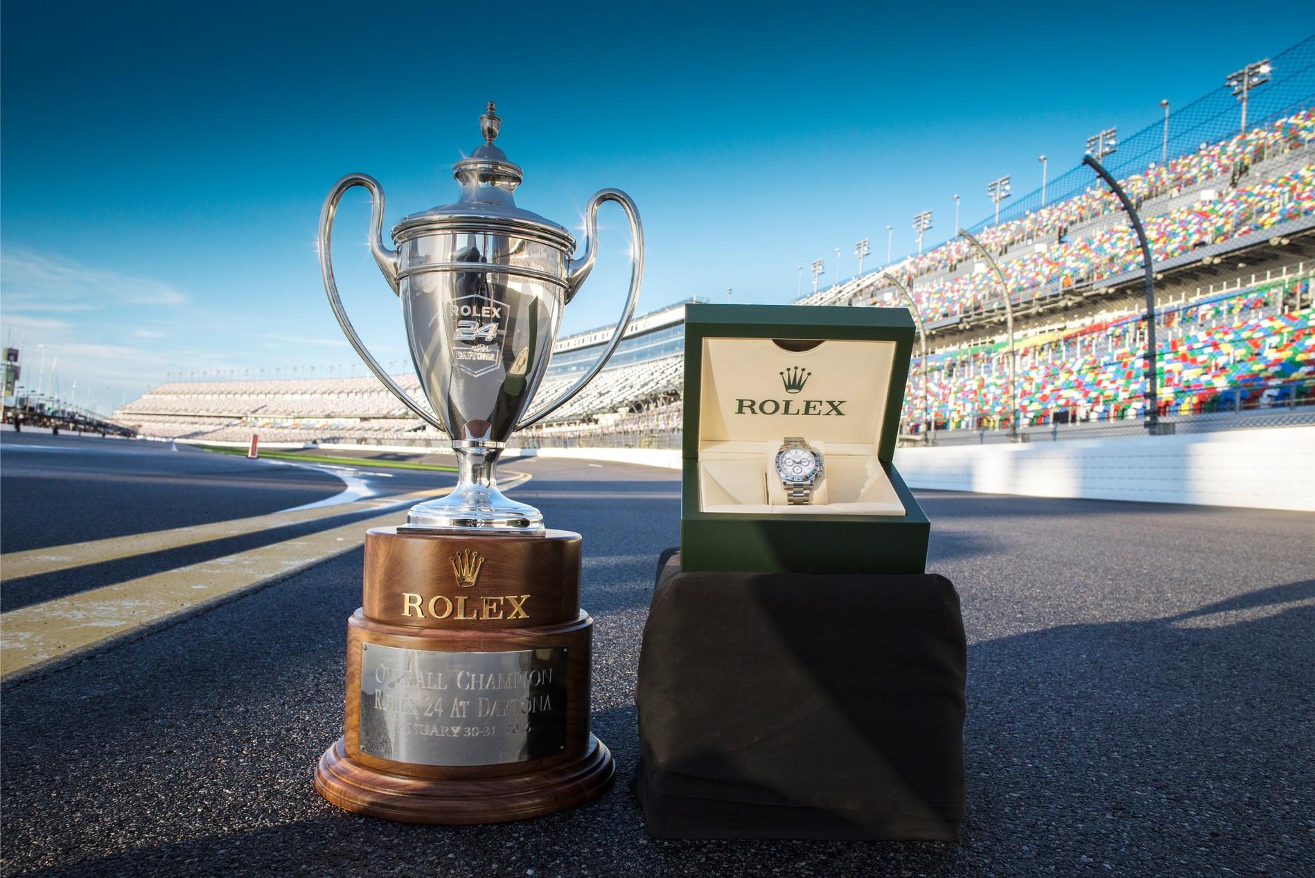 2016 Rolex 24 Trophy and Winners Watch
