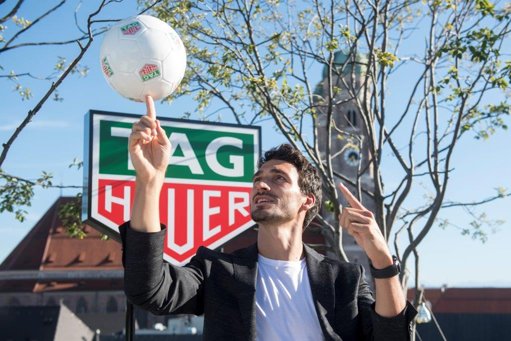 Matt Hummels is TAG Heuer new Ambassador (3)