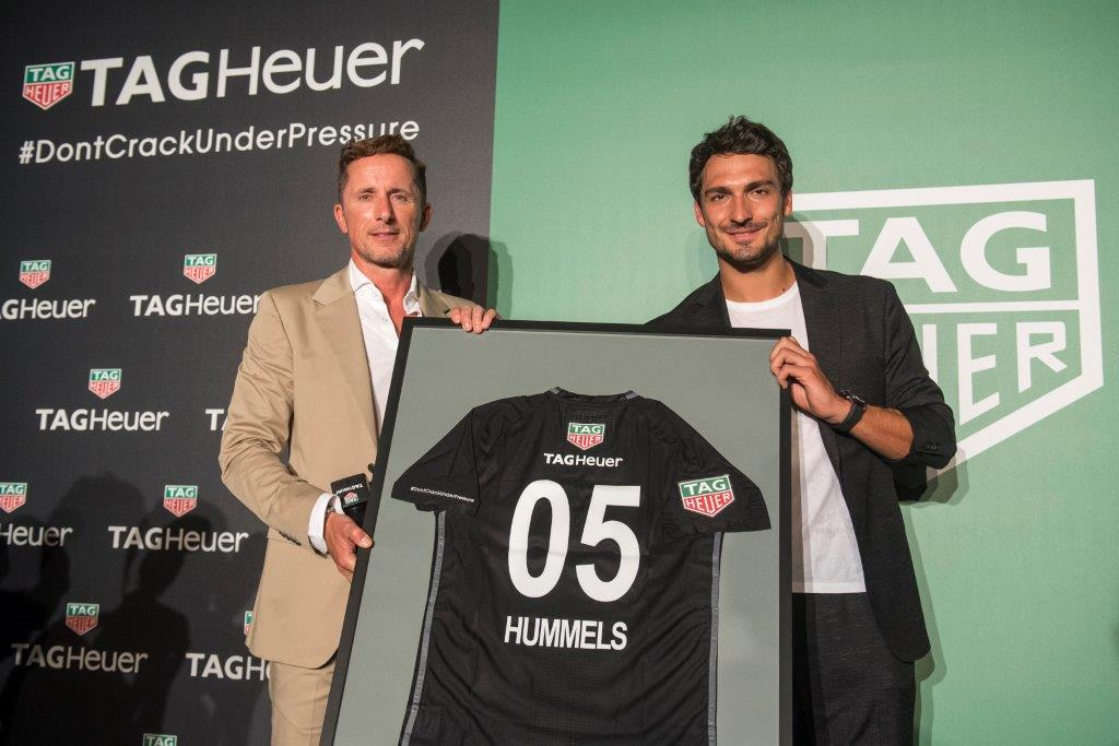 Matt Hummels is TAG Heuer new Ambassador (5)