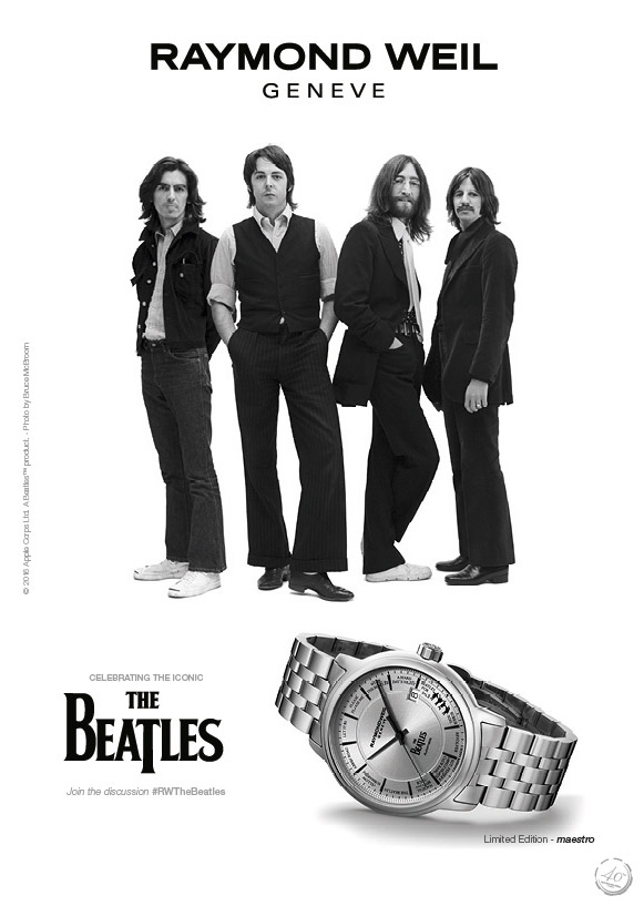 RW_MAESTRO-BEATLES-LIMITED-EDITION_IMAGES_ForPrint_CMYK_RWG_AD2016_mag_Beatles_210x297mm_72dpi