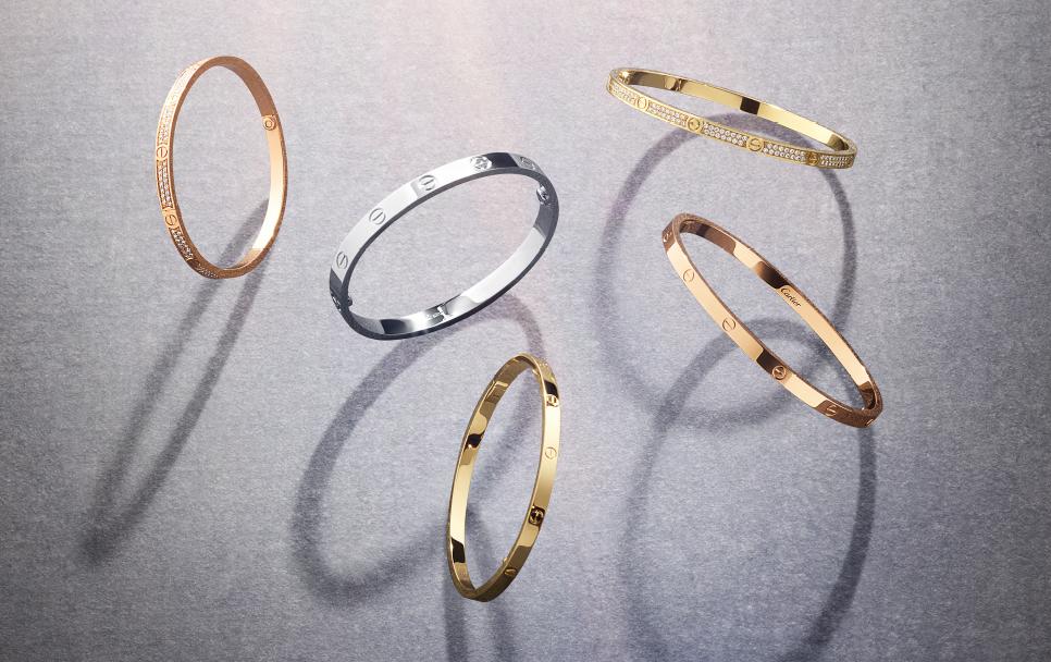 Cartier y el brazalete del amor…