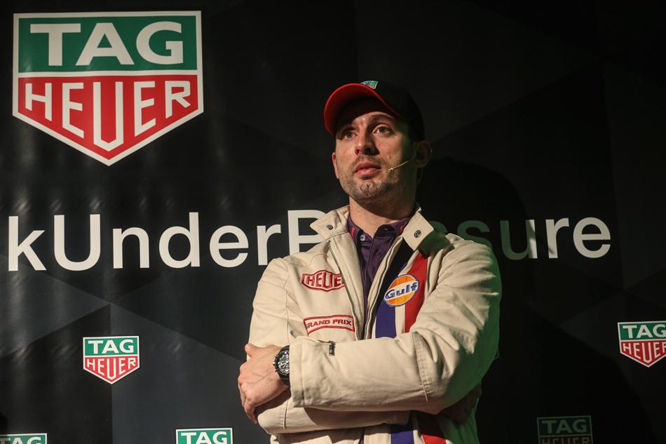 """TAG Heuer anuncia a: José María """"Pechito"""" López nuevo amigo de la marca"""