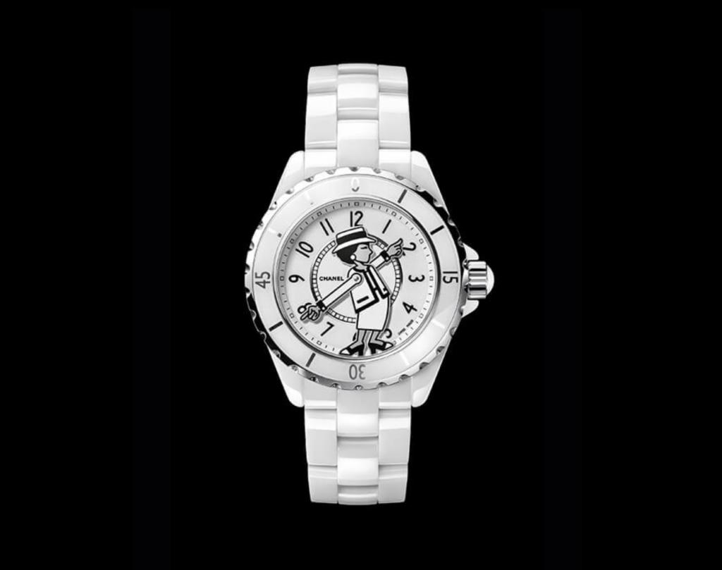 Chanel J12 Mademoiselle Blanco 3