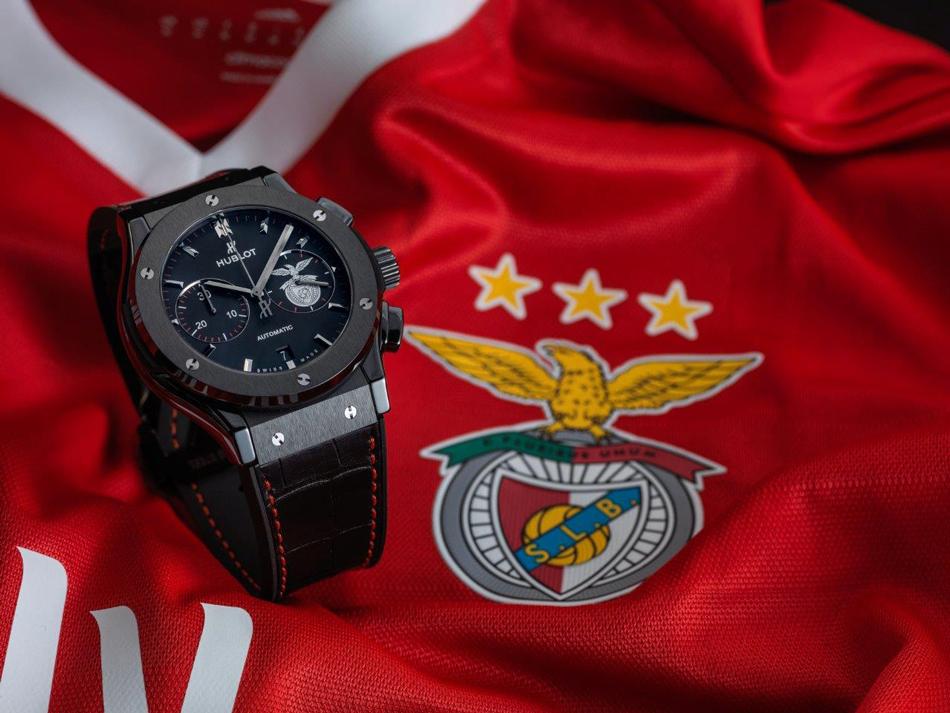 43ca4b67f35a Hublot refuerza su apuesta por el fútbol con el patrocinio del Benfica