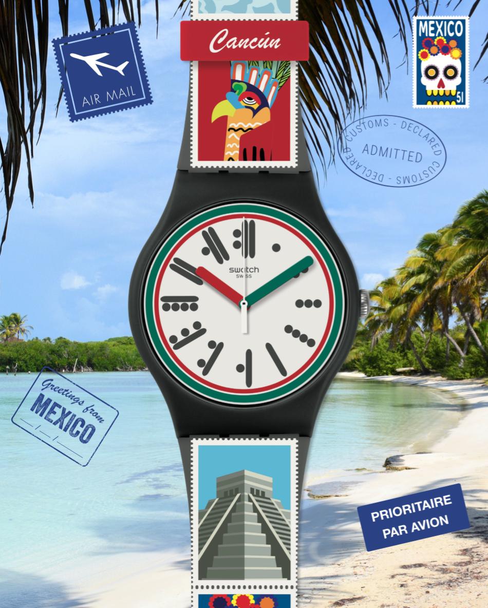 Swatch vuelve a conquistar el Caribe