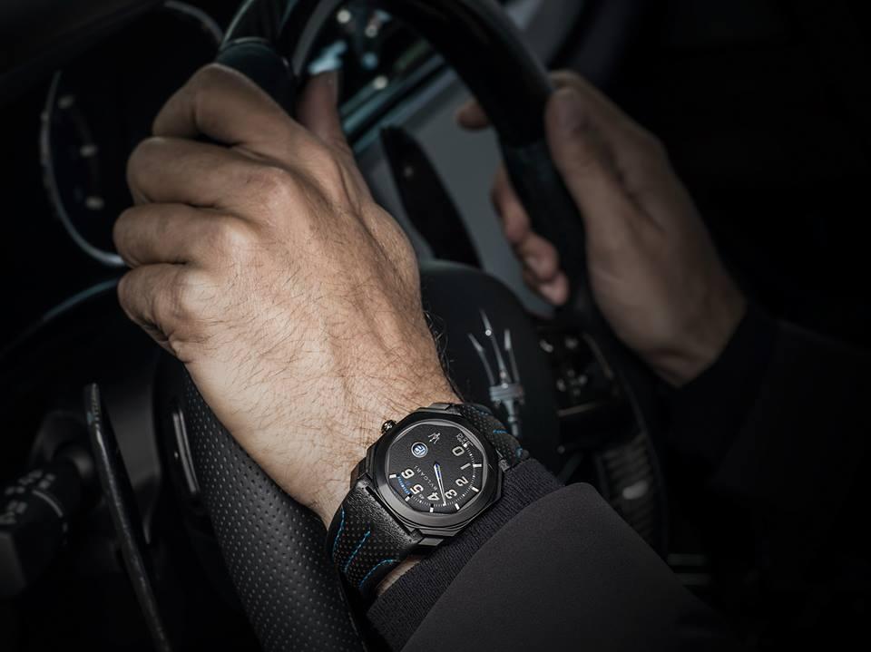La precisión de Bulgari y la velocidad de Maserati