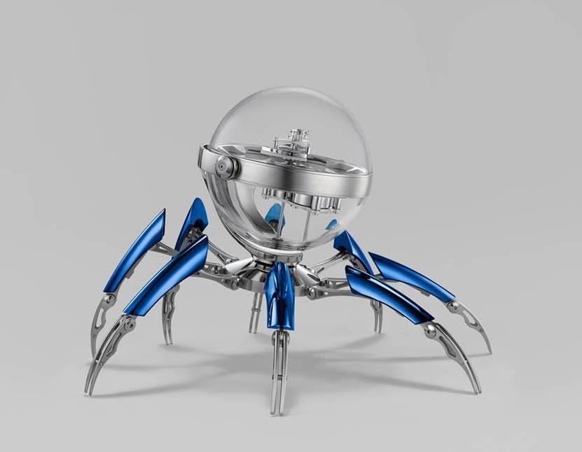 MB&F presenta Octopod, un reloj de mesa inspirado en el mar