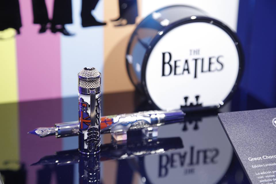 Montblanc celebra su nueva colección de plumas al ritmo de Los Beatles