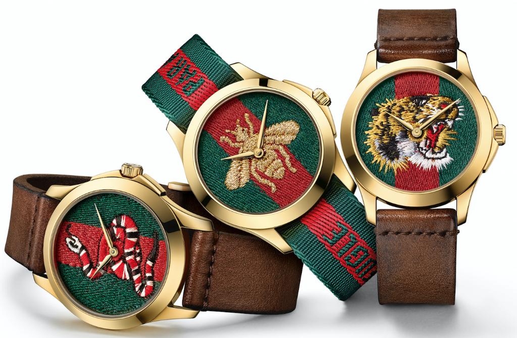Las joyas y relojería de Gucci, un homenaje a la artesanía y la creatividad