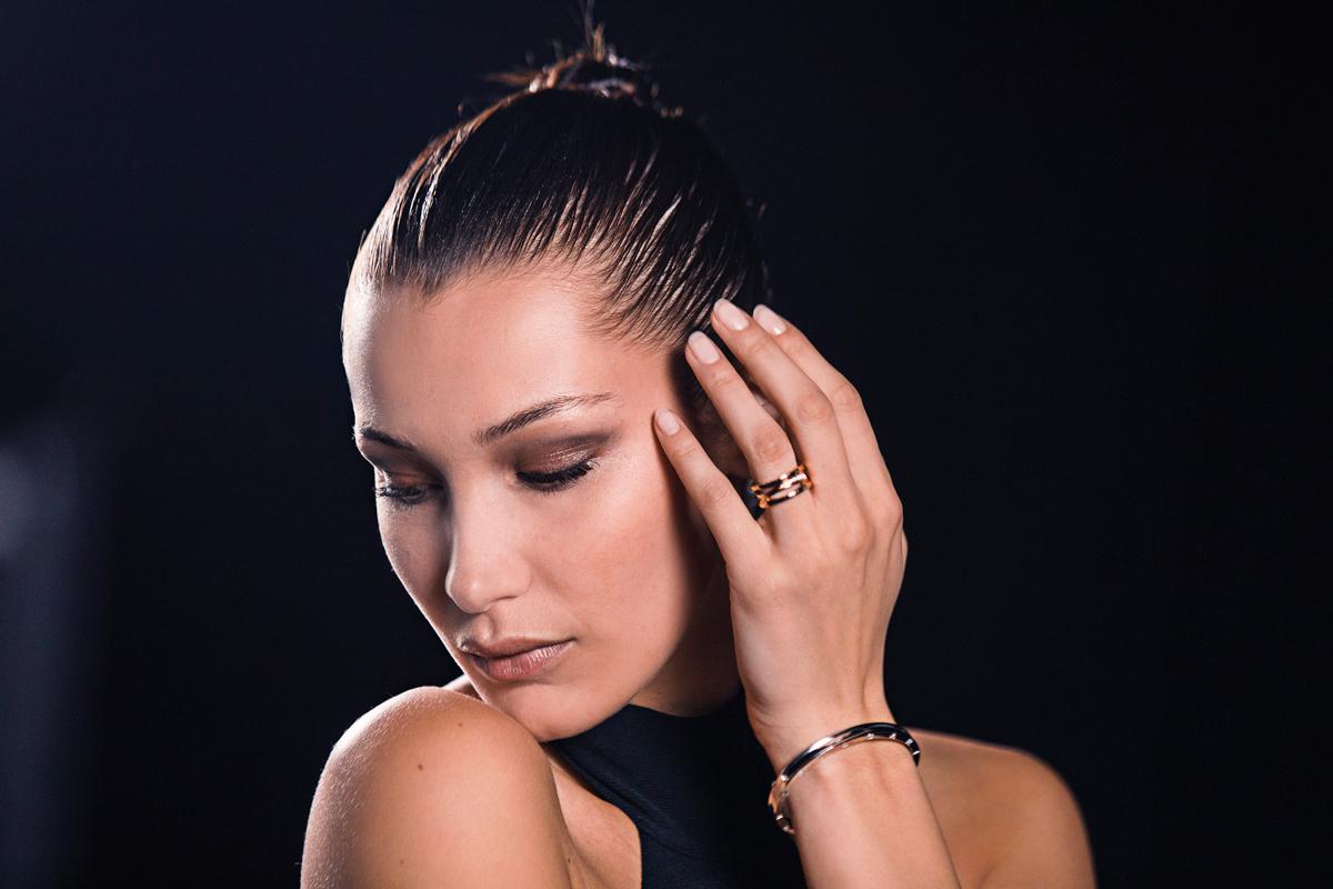 Bulgari presenta a Bella Hadid como la nueva imagen de B.Zero1