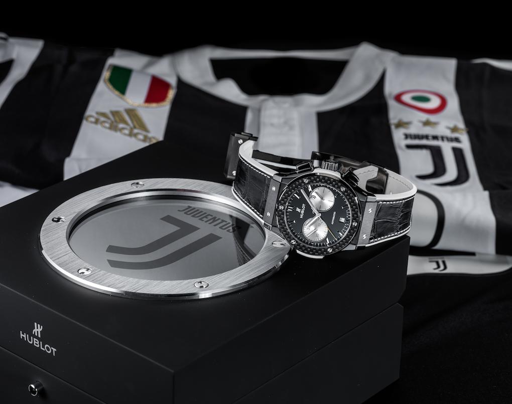 Hublot y el Juventus Club estrechan su alianza con un nuevo reloj