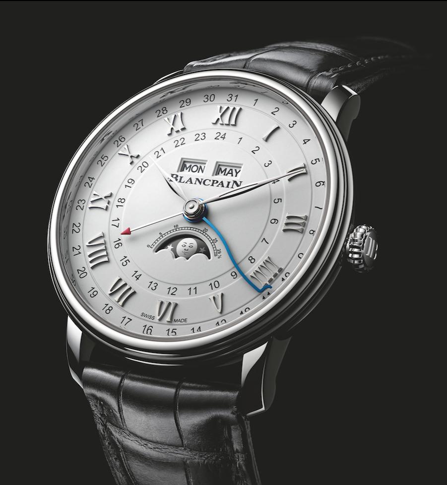 Precisión por excelencia: Villeret Quantième Complet GMT de Blancpain