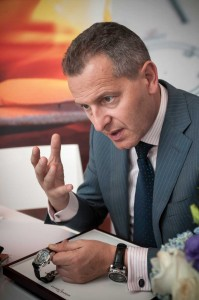 Patrik Hoffmann, CEO de Ulysse Nardin