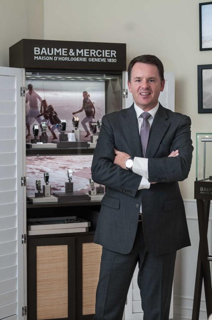 Alain Zimmermann, CEO de Baume & Mercier