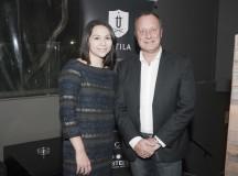 Natalia Vázquez, Marketing Manager de Attila, y Michel Santschi, International Sales Manager de Zenith