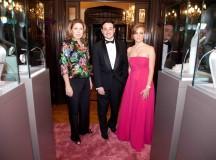 Stéphanie Martinez, Directora de Montblanc México, minutos antes de dar la bienvenida al evento en honor a la Princesa Grace de Mónaco.