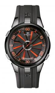 El TURBINE XL es un reloj audaz, instintivo y con estilo que se adapta plenamente a su amplia caja de 50 mm de diámetro.