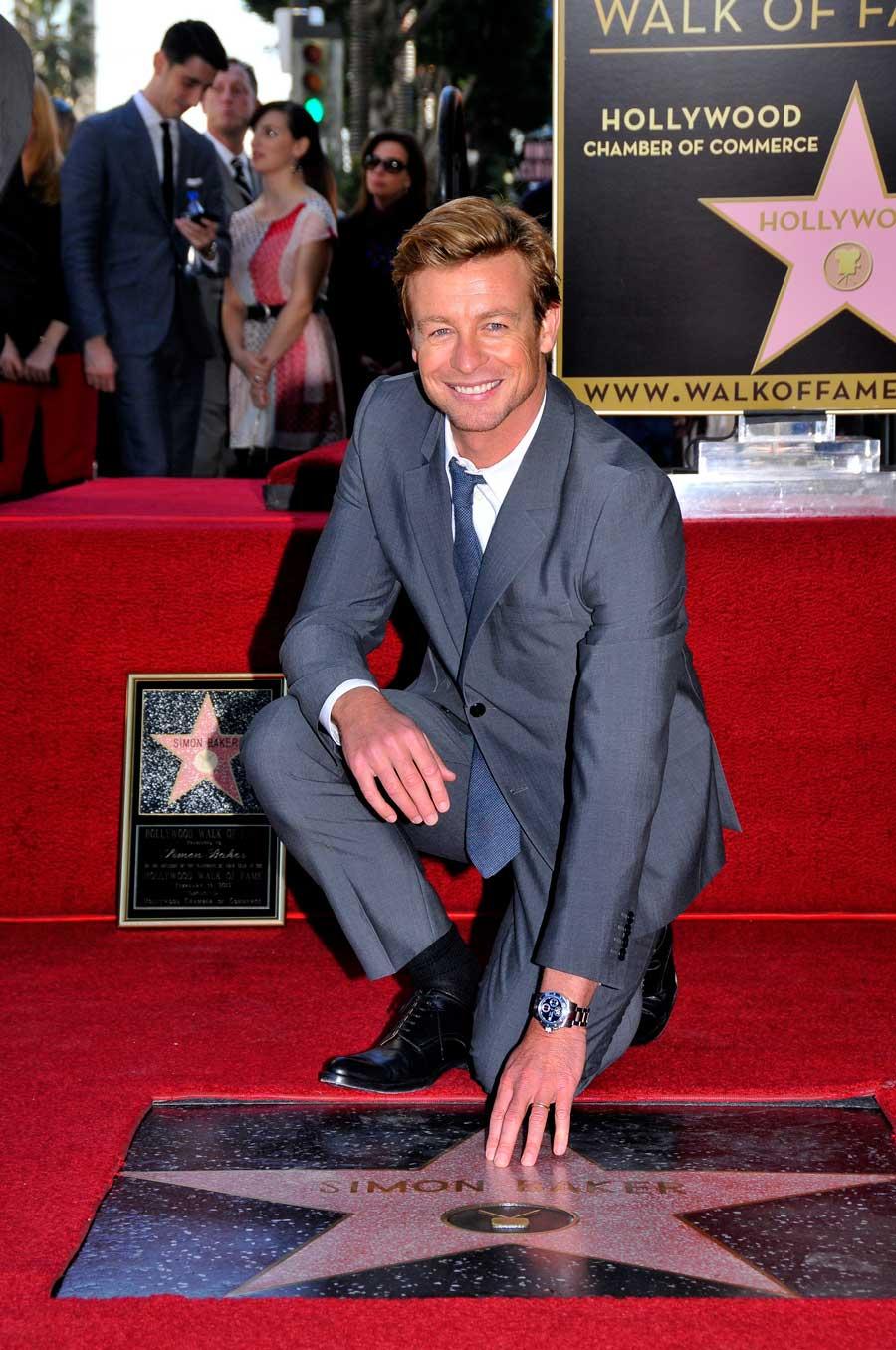 Simon Baker Hollywood Star