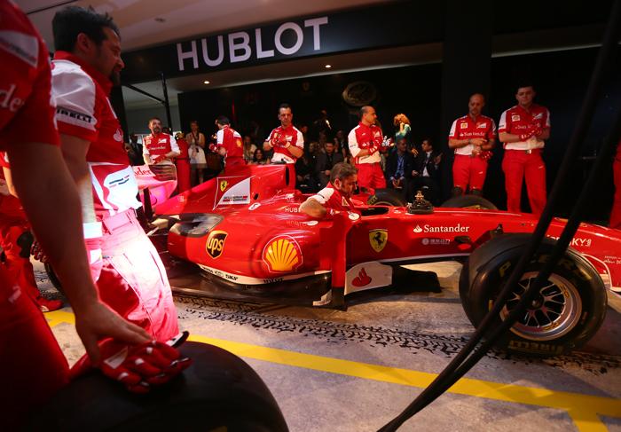 Pit Ferrari - Hublot / U.A.E.