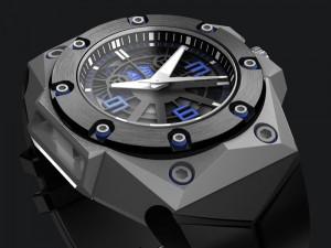 OktopusII Blue Titanium
