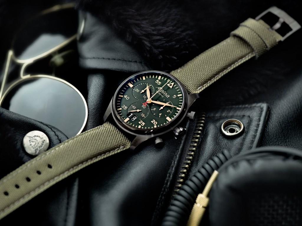 Startimer Pilot Chronograph Big Date.