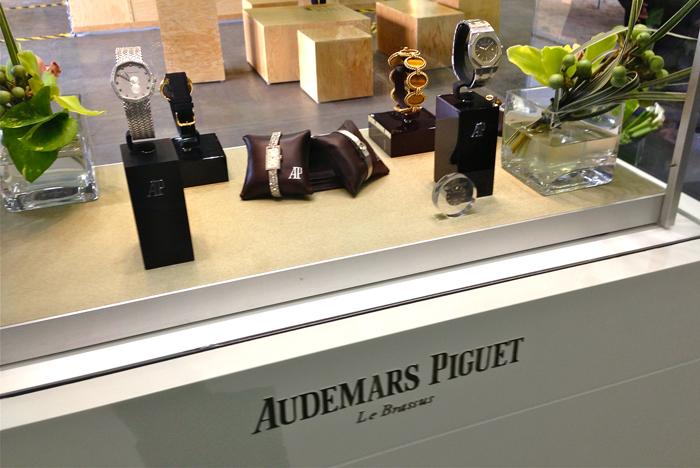 Audemars Piguet, colección de museo traída desde Le Brassus.