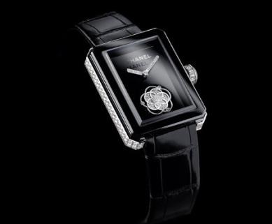 Edición especial para Only Watch. Bisel en cerámica negra de alta tecnología, 169 diamantes.
