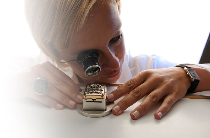 Watchmaking.