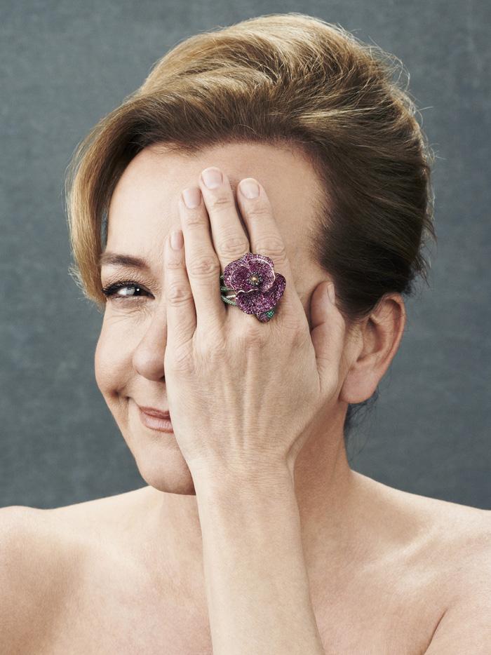 Caroline Scheufele, Poppy Ring, Red Carpet Collection 2013.