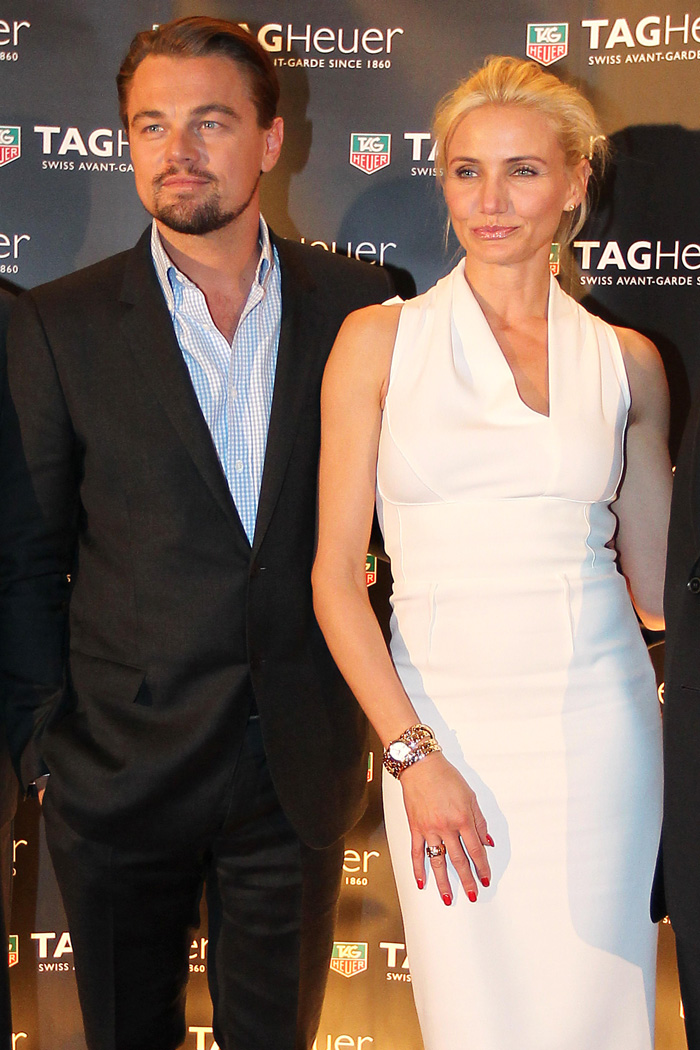 Leonardo DiCaprio y Cameron Diaz