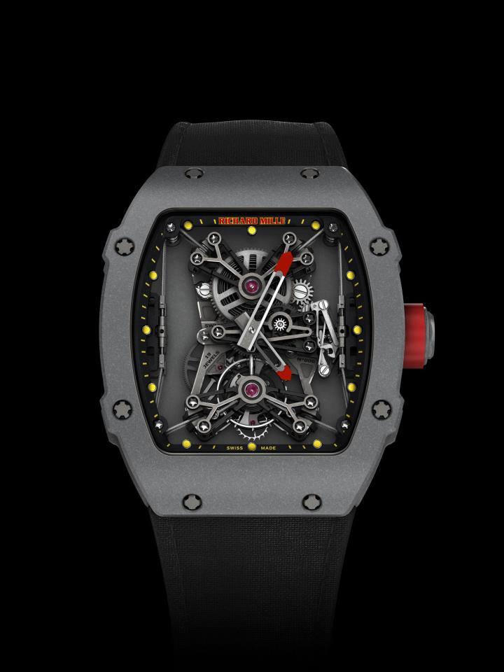 *Tourbillon RM 27-01 Rafael Nadal, el torubillon más liviano y resistente del planeta. Watches World, los relojes de tu vida.