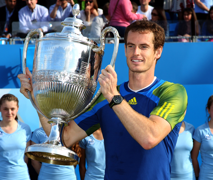 "Andy Murray ""The King of Queen´s""."