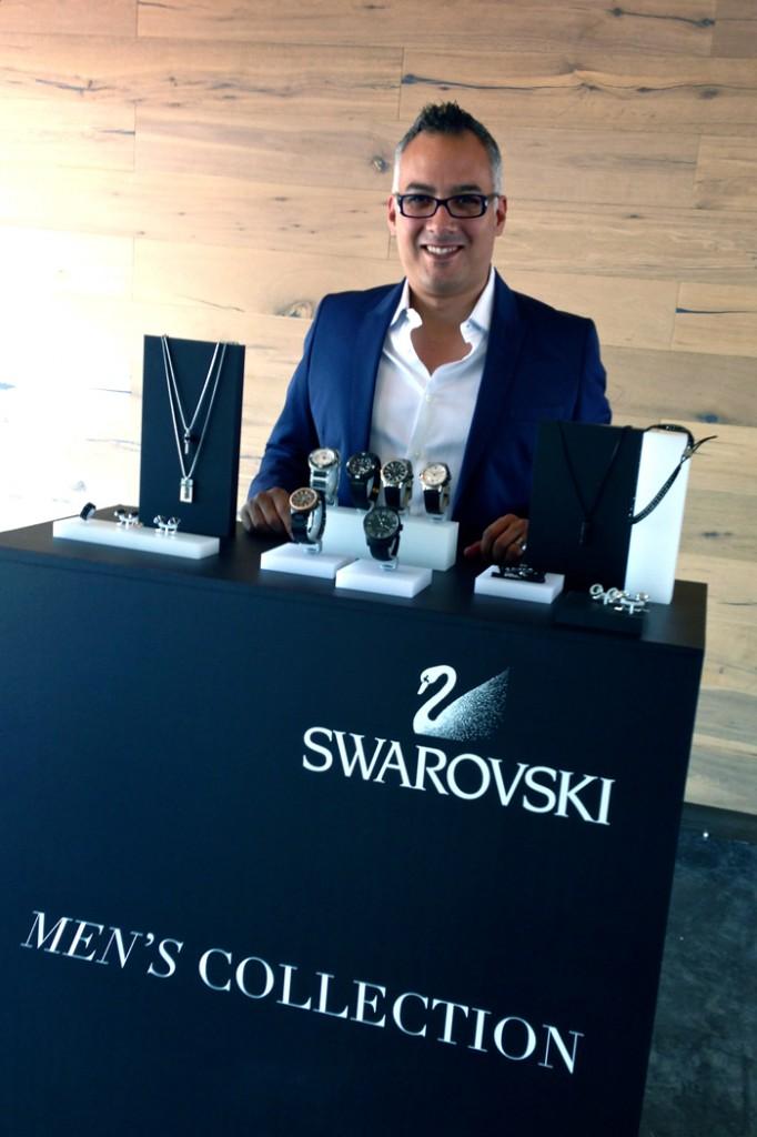 Gregorio Jiménez, Director General de Swarovski México.