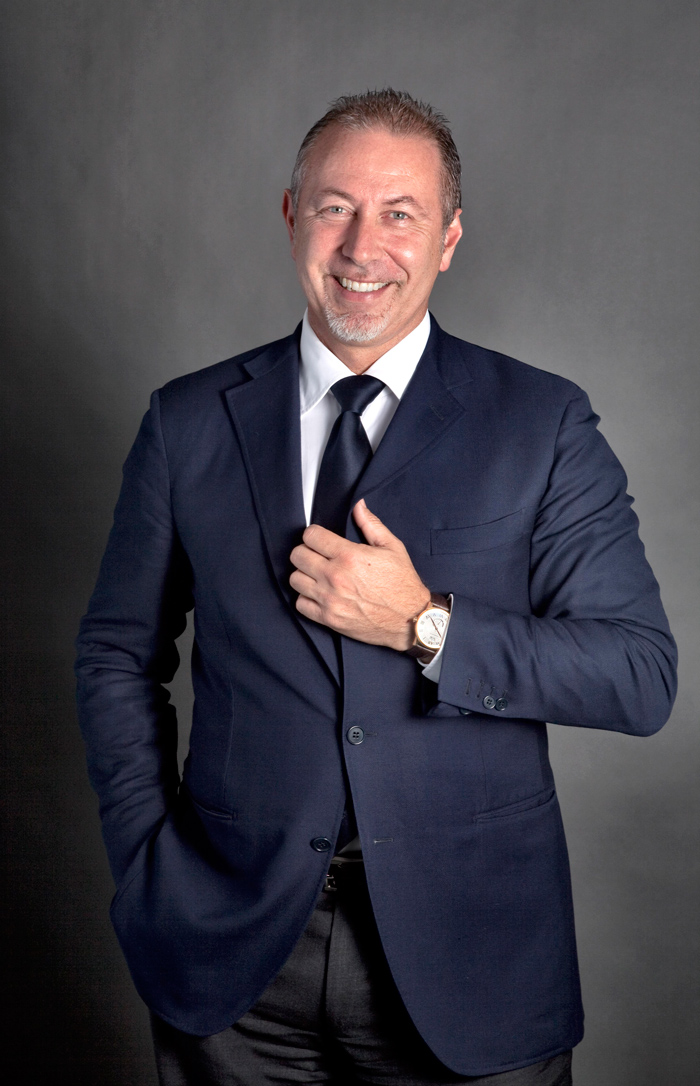 Paolo Marai, President & CEO, Timex Luxury Division, VERSACE.