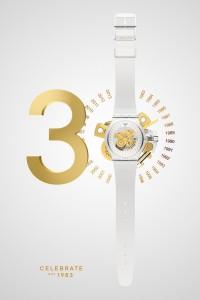 New Gent edición conmemorativa del 30 aniversario de Swatch.