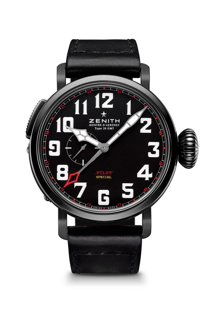 Montre D´Aéronef Type 20 GMT Baron Rouge