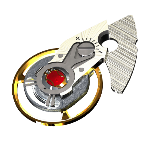 BALL patented SpringLOCK® anti-shock system