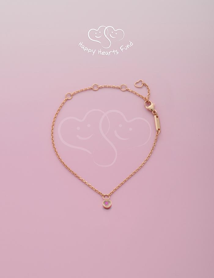 Happy Heart Fund Chopard bracelet