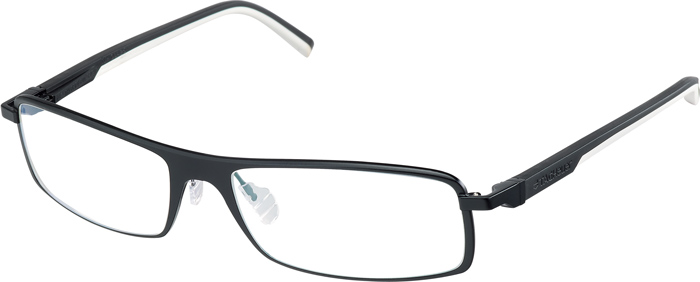 TAG Heuer Rimmed-Automatic Eyewear in motion.