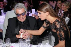 Roberto Cavalli y Bianca Brandolini.