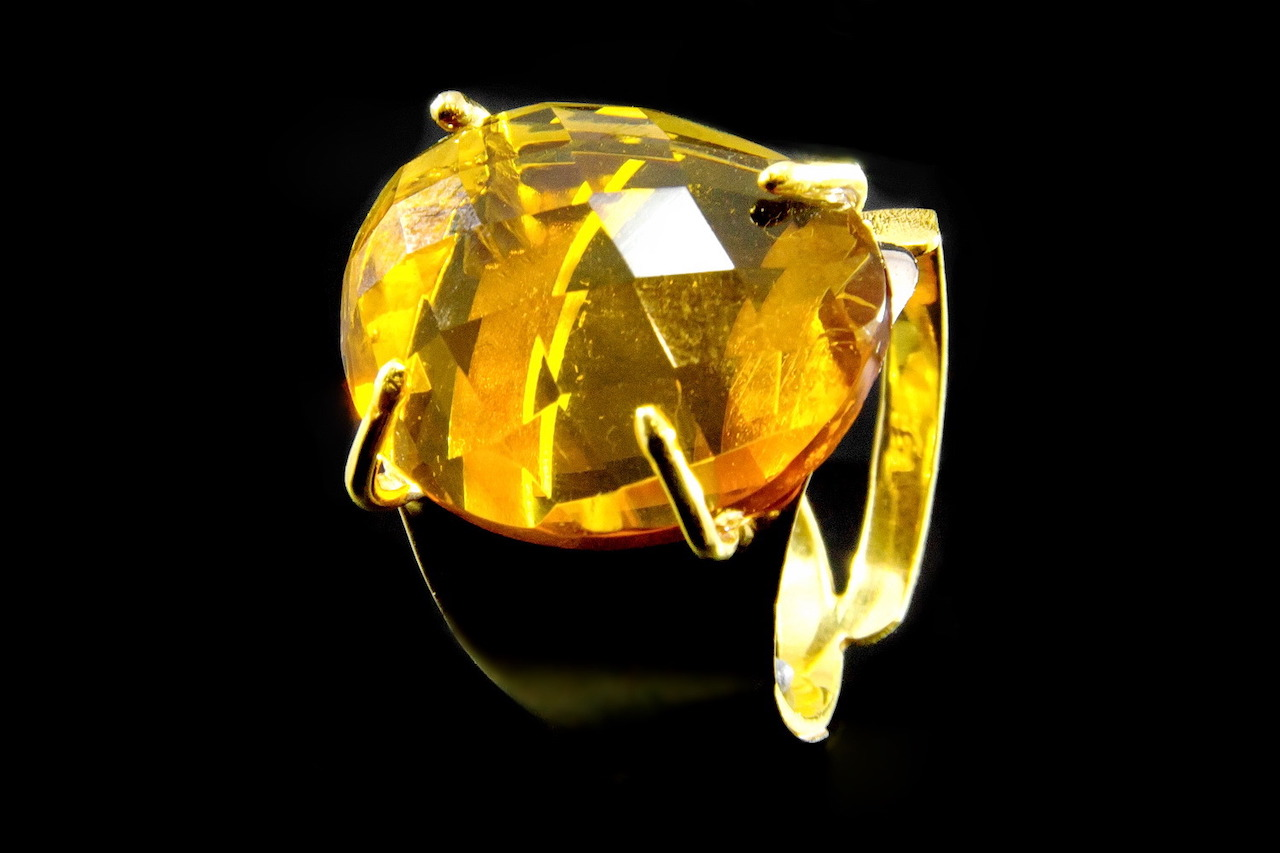 La gema del mes de noviembre: el topacio amarillo