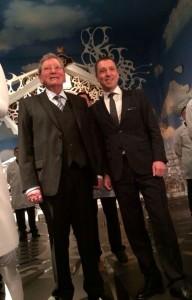 Mr. Roger Dubuis y Jean-Marc Pontroué.
