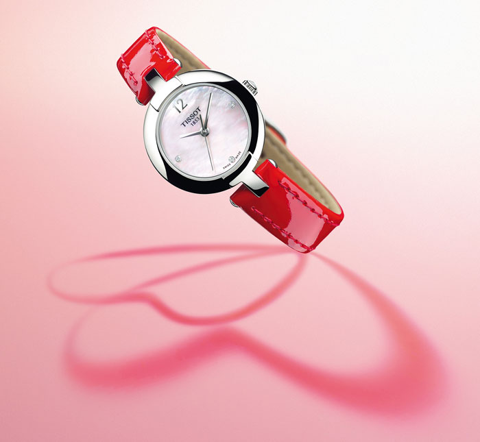 Pinky by TISSOT Valentine´s Day.