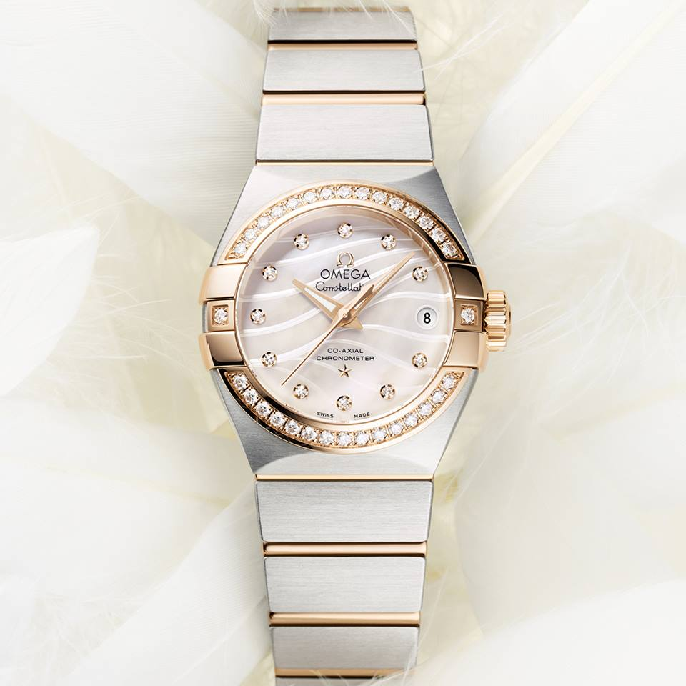 "OMEGA Constellation ""Pluma""."