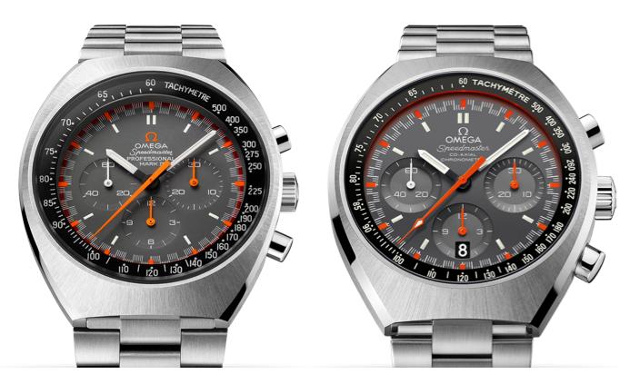 Omega Speedmaster Mark II, antes y después.