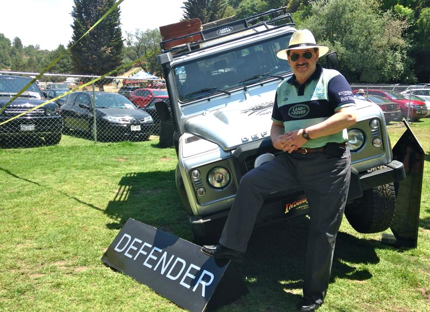 """""""Les agradezco mucho su lealtad y confianza, son nuestros verdaderos embajadores; gracias a ustedes somos lo que somos hoy en día"""": Joseph ChamaSrour, Director General de Jaguar/Land Rover México."""