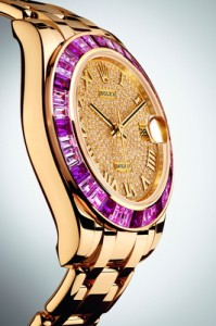 DATEJUST PEARLMASTER 34 - YELLOW GOLD
