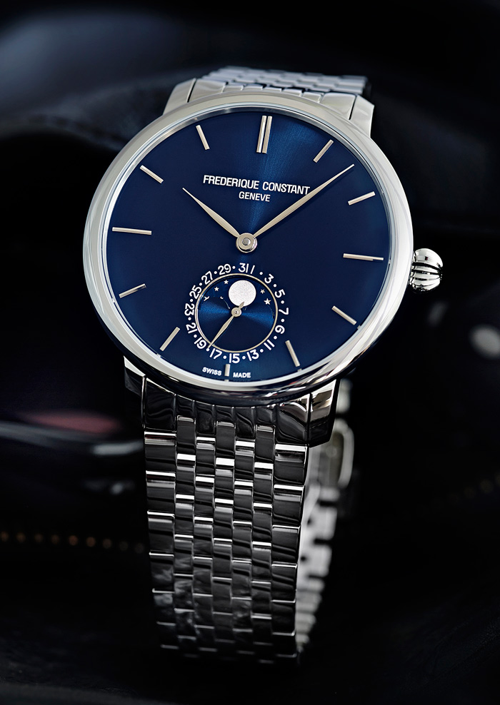 Slimline Moonphase Manufacture.