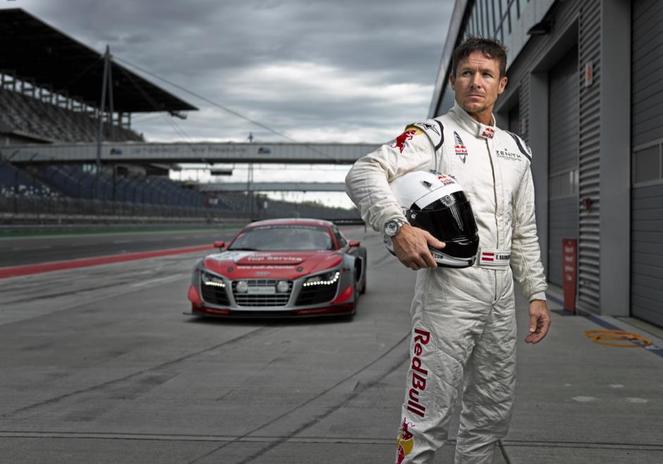 Felix Baumgartner / Audi R8